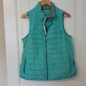 Tangerine Women's Puffer Vest. XL
